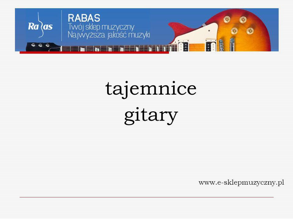 tajemnice gitary www.e-sklepmuzyczny.pl