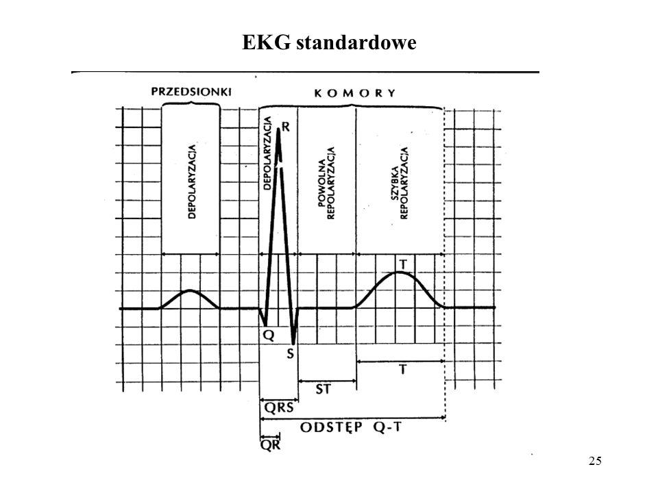 EKG standardowe