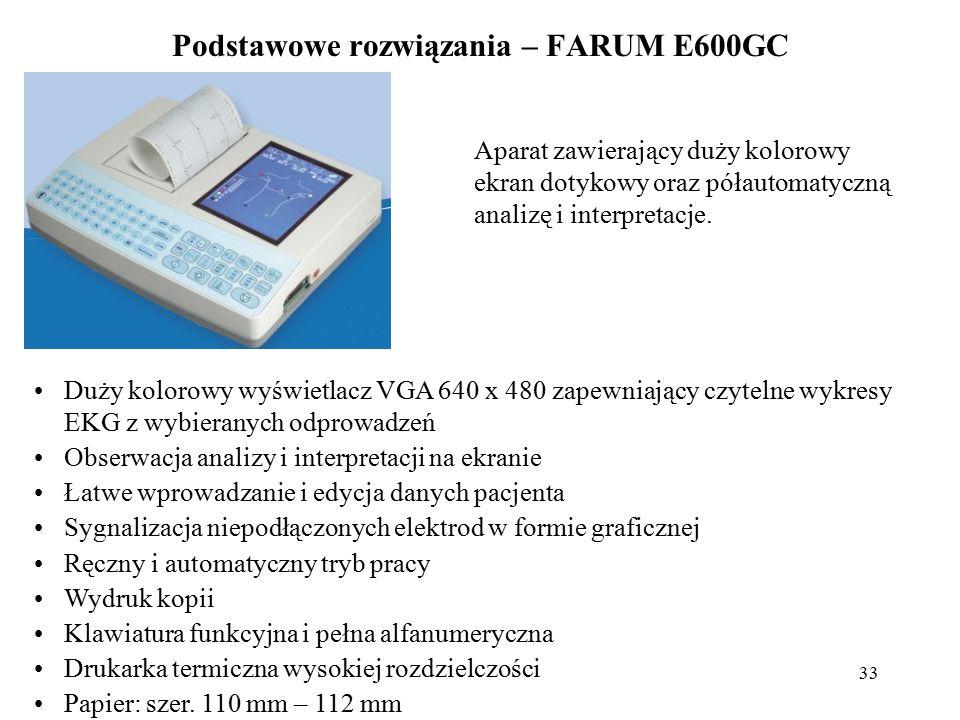 Podstawowe rozwiązania – FARUM E600GC