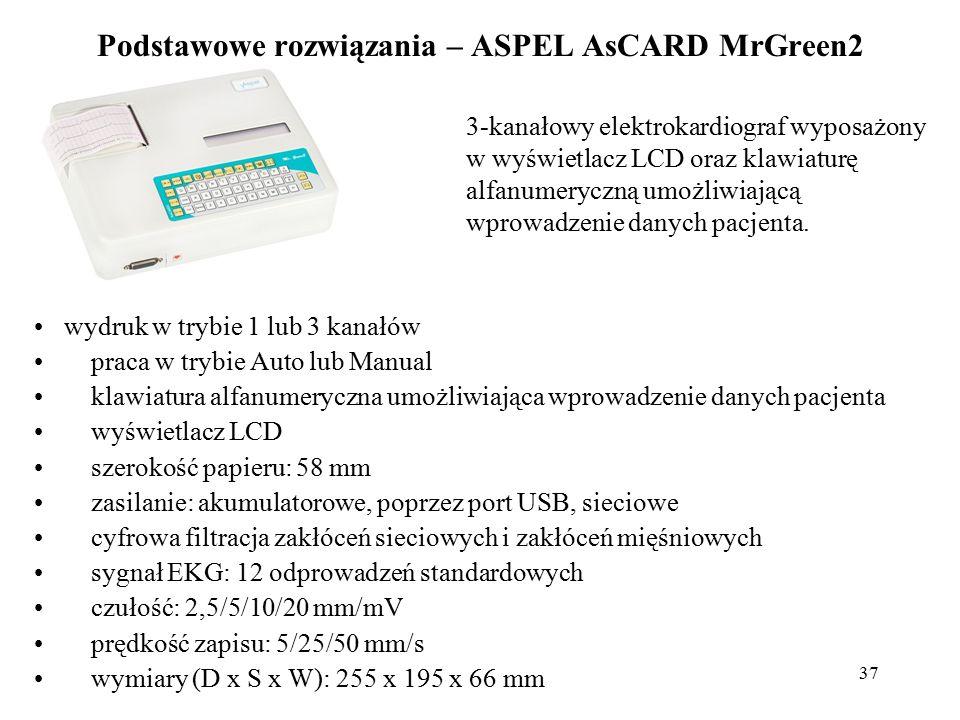 Podstawowe rozwiązania – ASPEL AsCARD MrGreen2