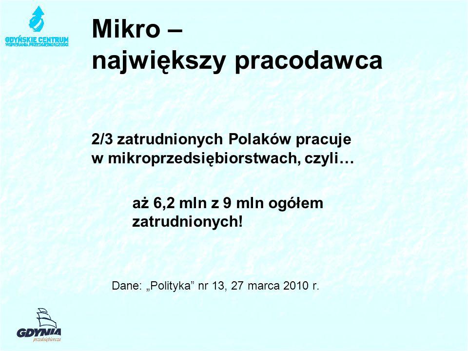 Mikro – największy pracodawca
