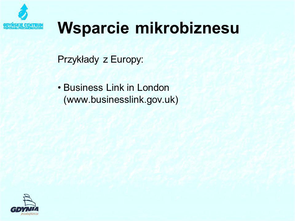 Wsparcie mikrobiznesu