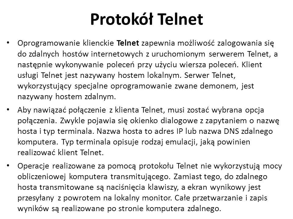 Protokół Telnet