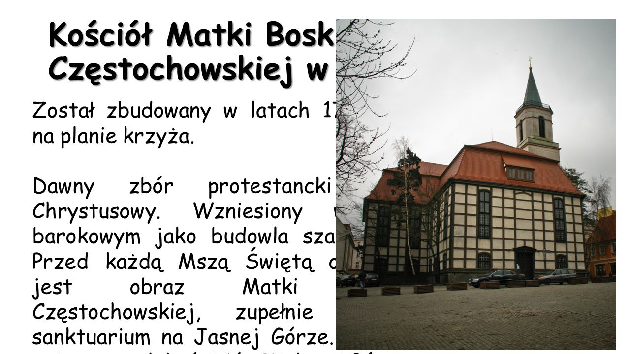 Kościół Matki Boskiej Częstochowskiej w Zielonej Górze