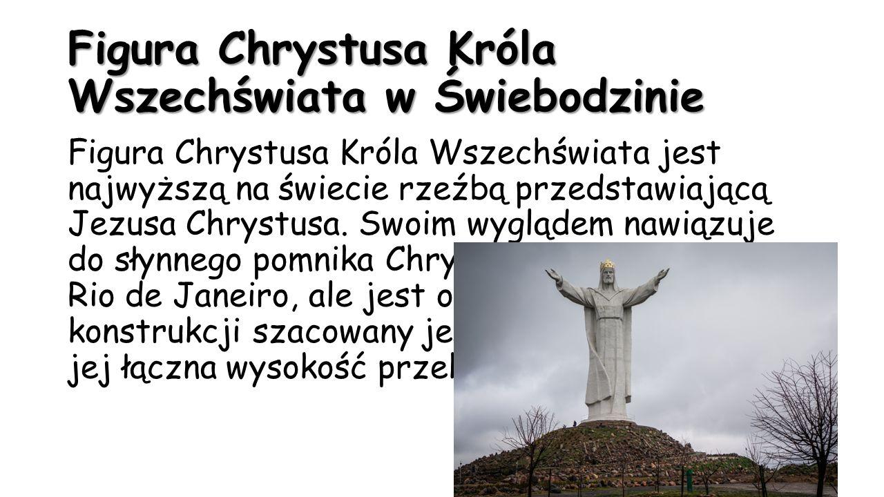 Figura Chrystusa Króla Wszechświata w Świebodzinie