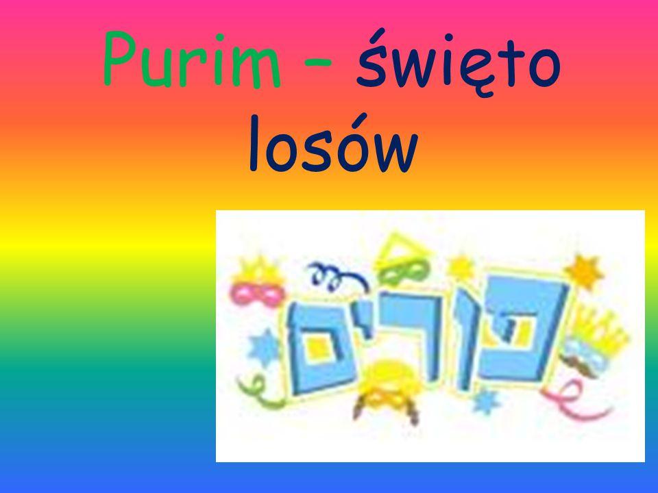 Purim – święto losów