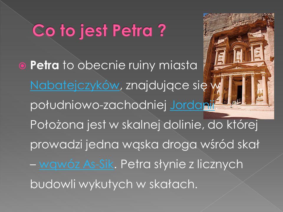 Co to jest Petra
