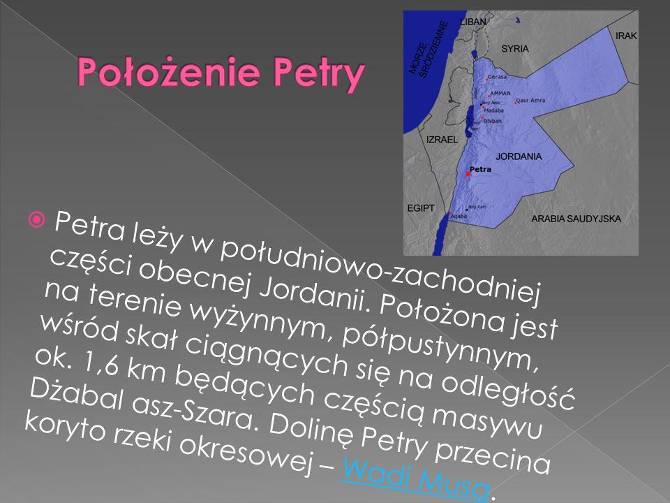 Położenie Petry