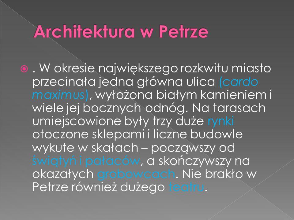Architektura w Petrze