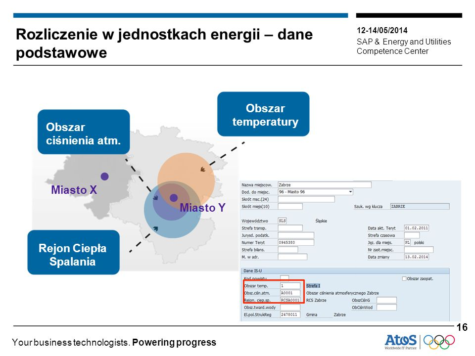 Rozliczenie w jednostkach energii – dane podstawowe