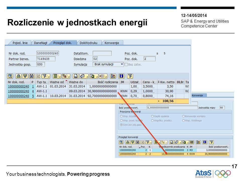 Rozliczenie w jednostkach energii