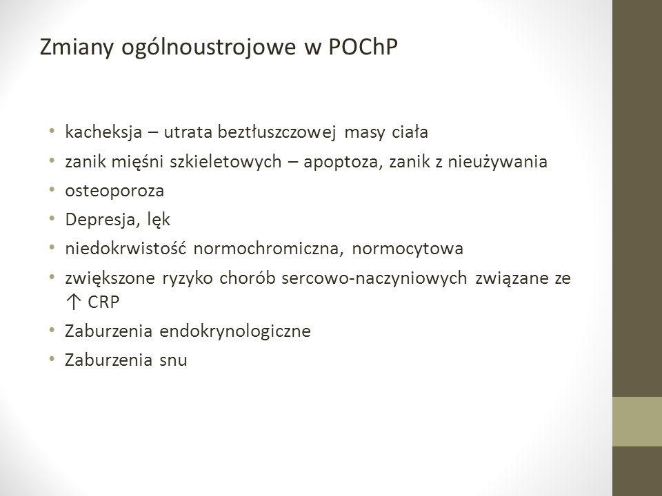 Zmiany ogólnoustrojowe w POChP