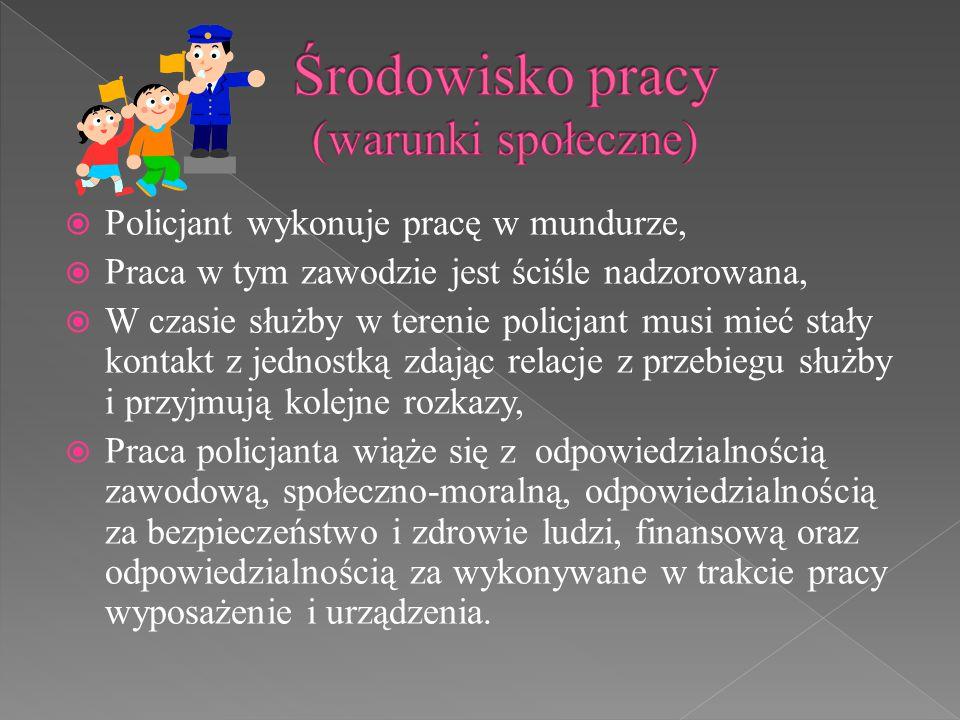 Środowisko pracy (warunki społeczne)