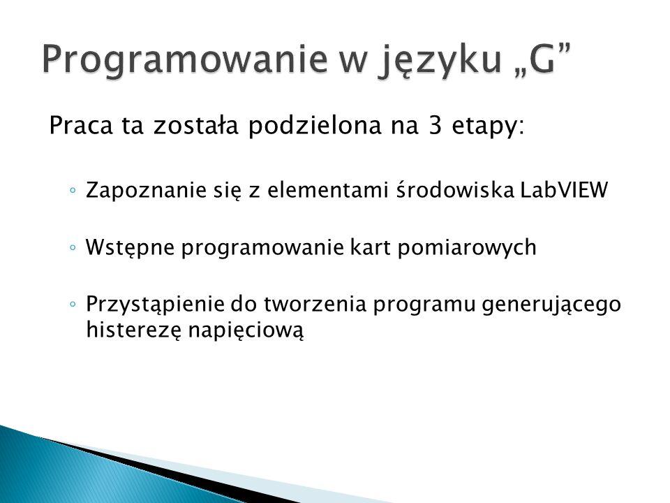 """Programowanie w języku """"G"""