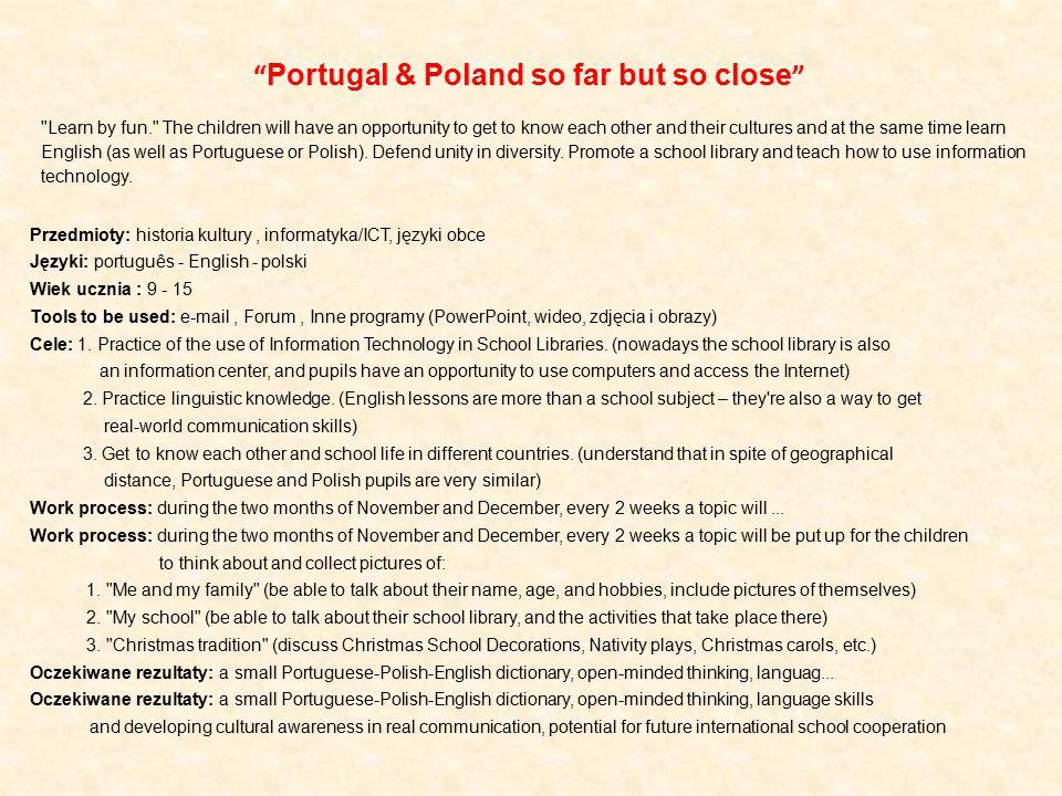 Portugal & Poland so far but so close