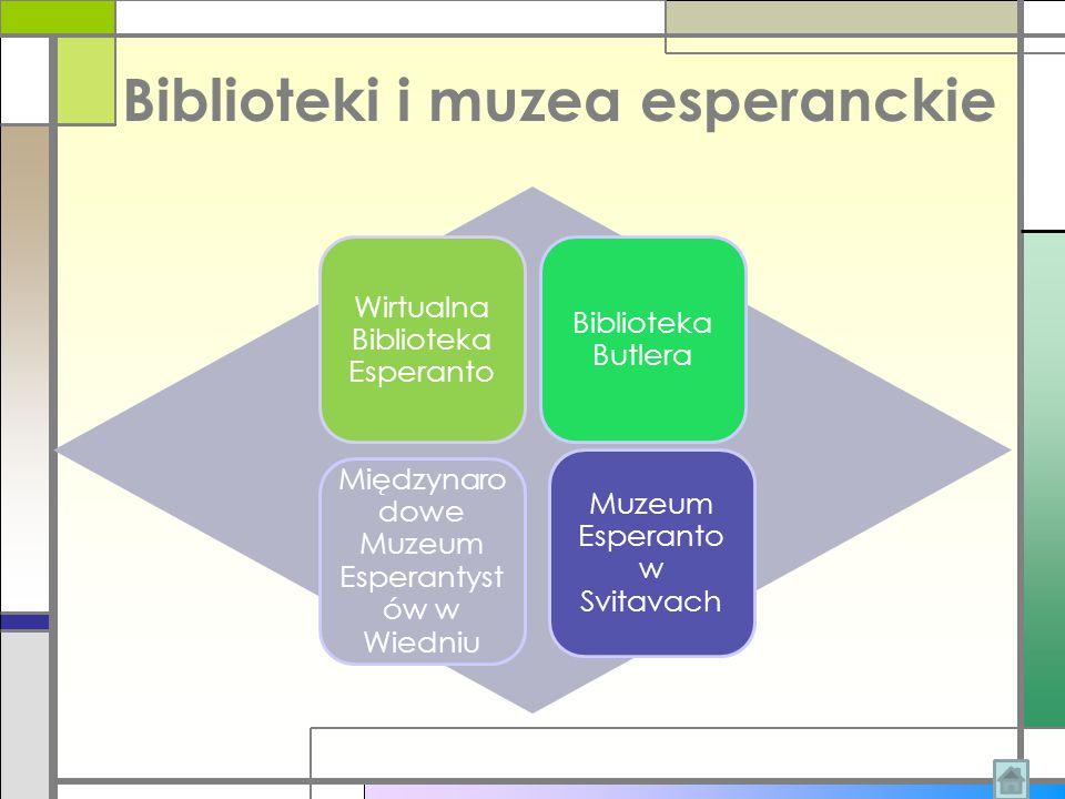 Biblioteki i muzea esperanckie