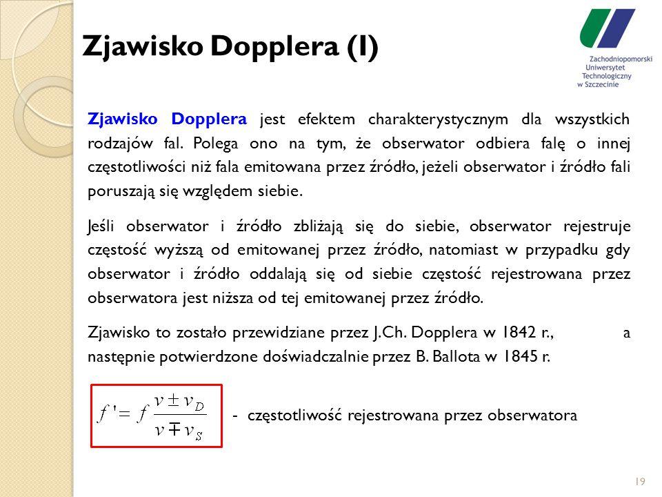 Zjawisko Dopplera (I)