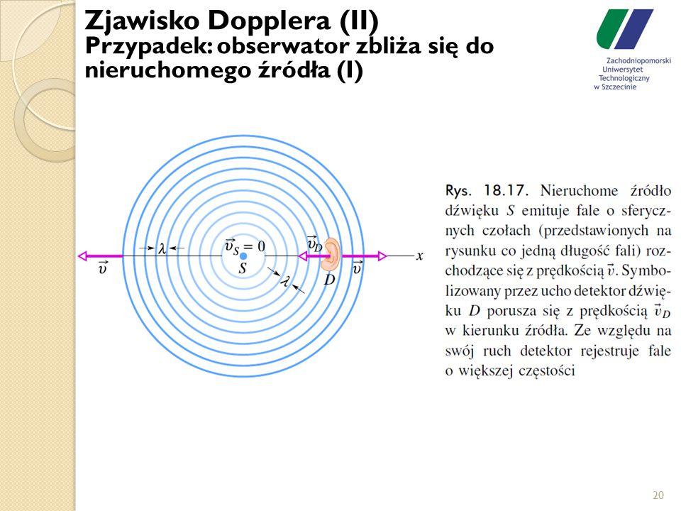Zjawisko Dopplera (II)