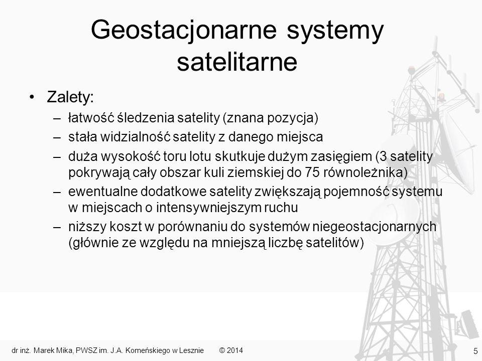 Geostacjonarne systemy satelitarne
