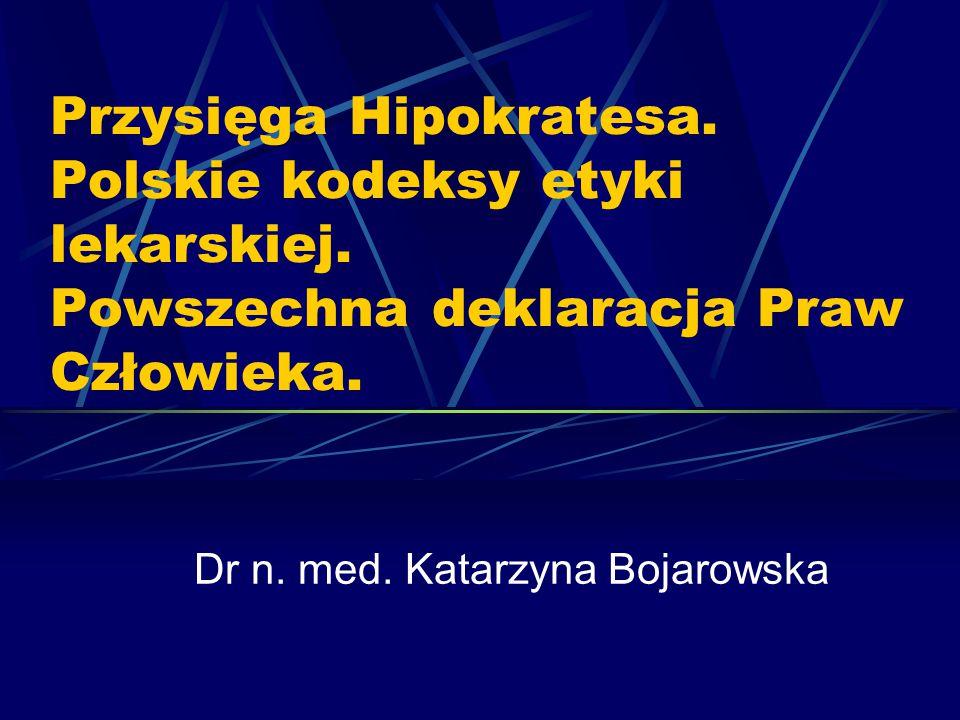 Dr n. med. Katarzyna Bojarowska