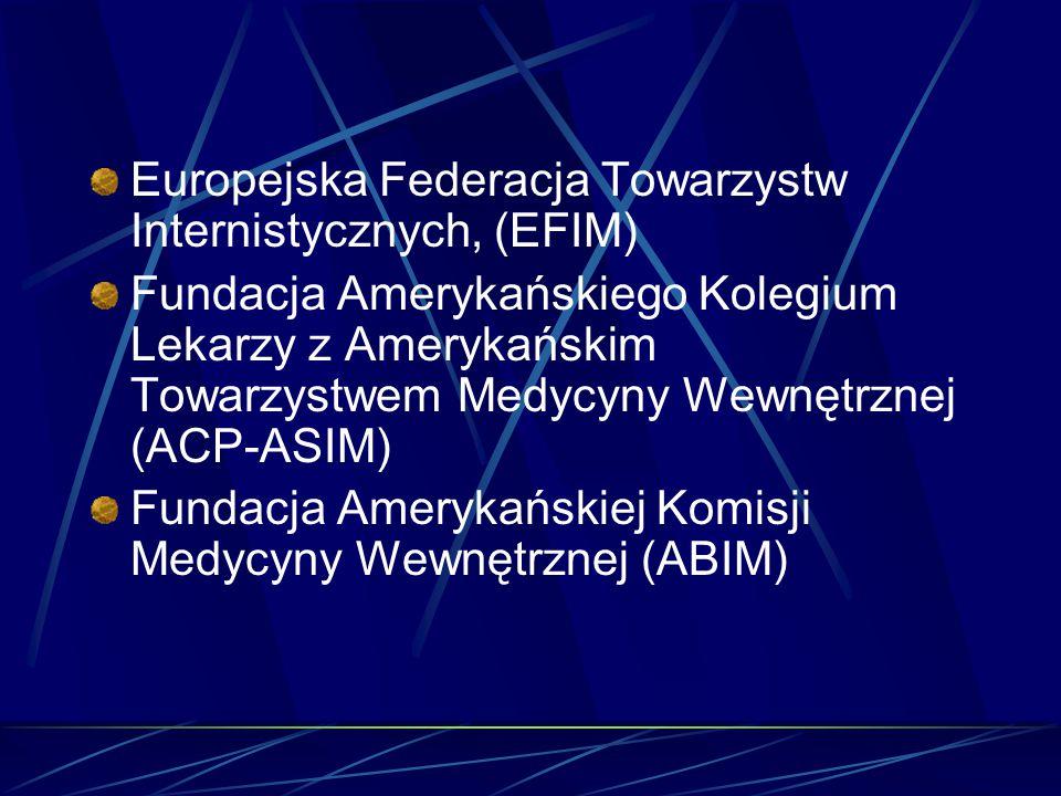 Europejska Federacja Towarzystw Internistycznych, (EFIM)