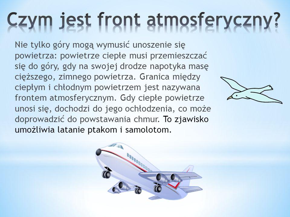 Czym jest front atmosferyczny