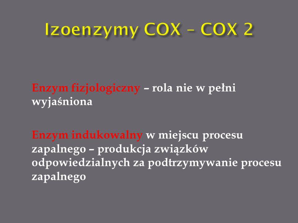 Izoenzymy COX – COX 2