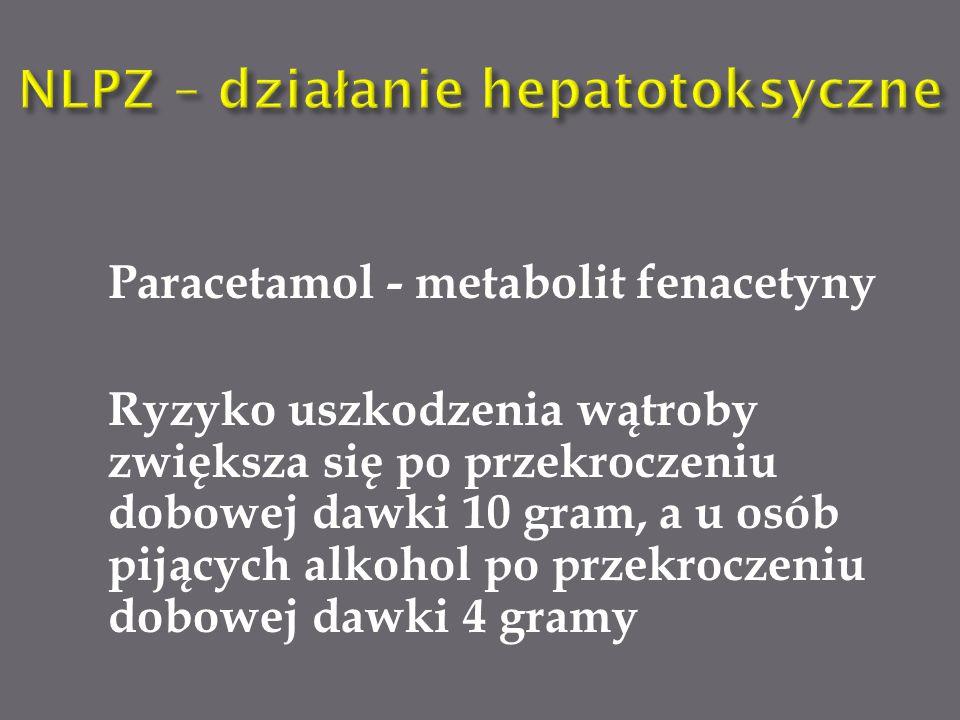 NLPZ – działanie hepatotoksyczne