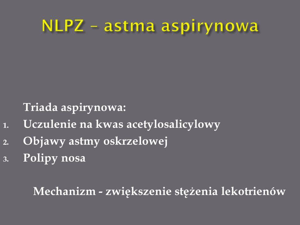 NLPZ – astma aspirynowa