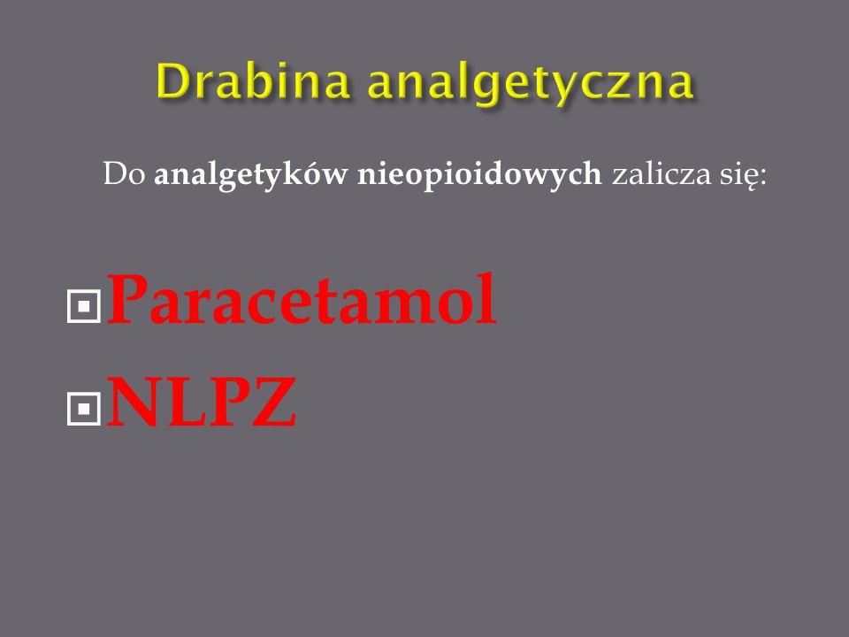 Paracetamol NLPZ Drabina analgetyczna