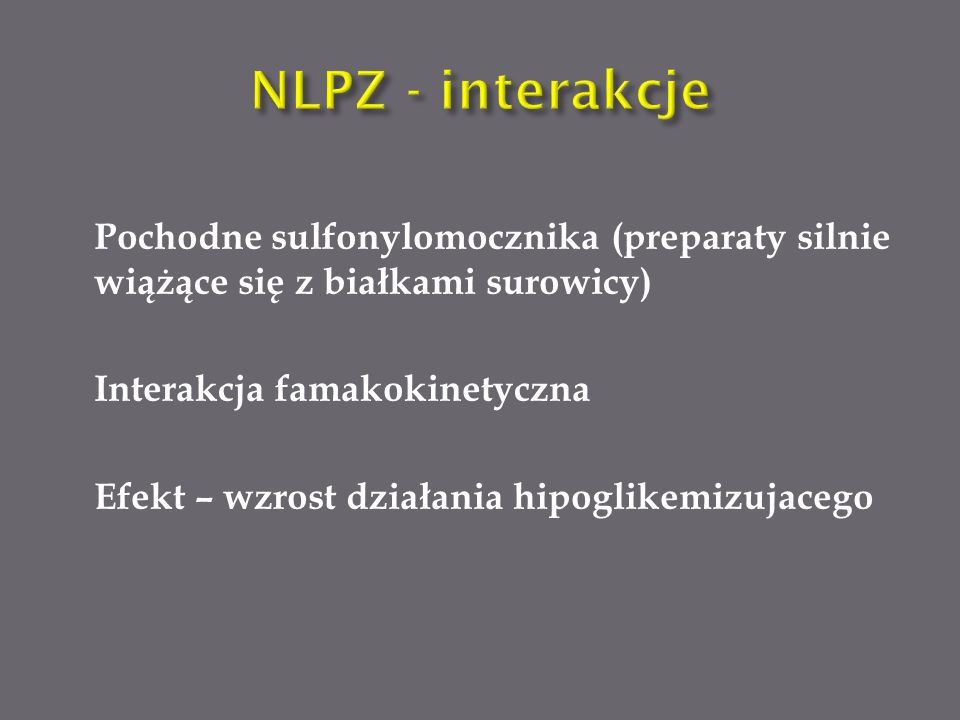 NLPZ - interakcje