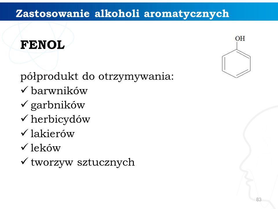 Zastosowanie alkoholi aromatycznych