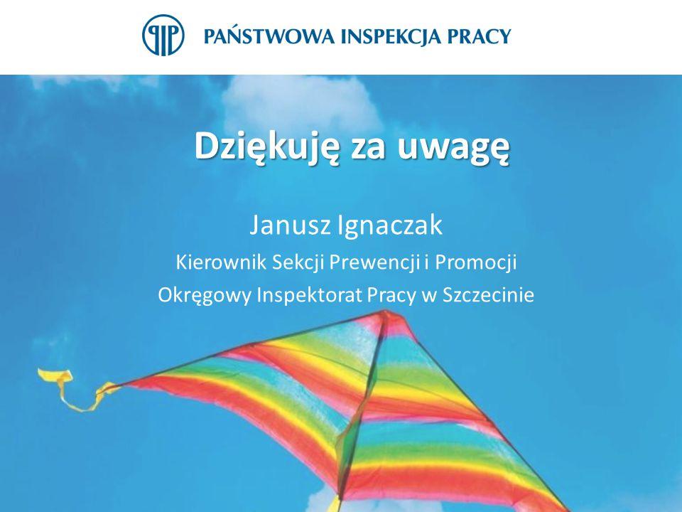Dziękuję za uwagę Janusz Ignaczak