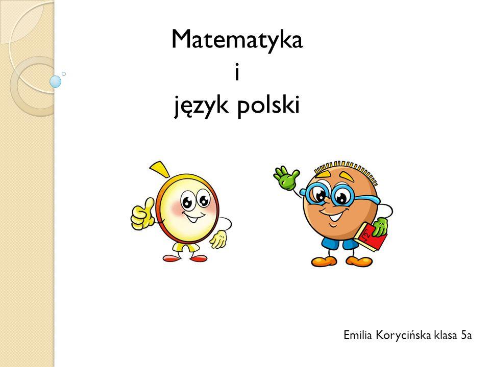 Emilia Korycińska klasa 5a