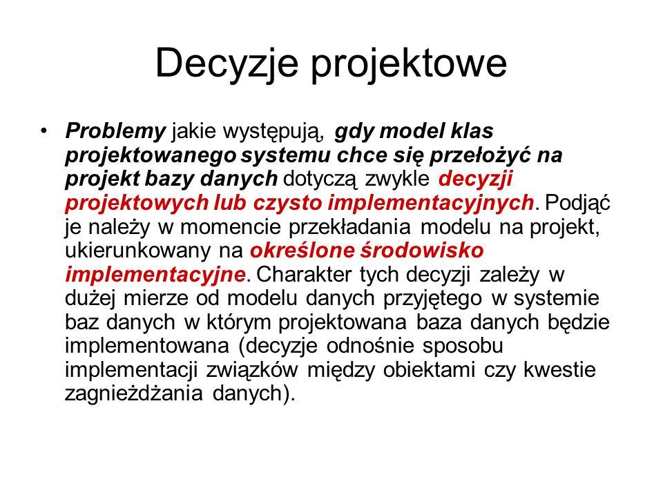 Decyzje projektowe