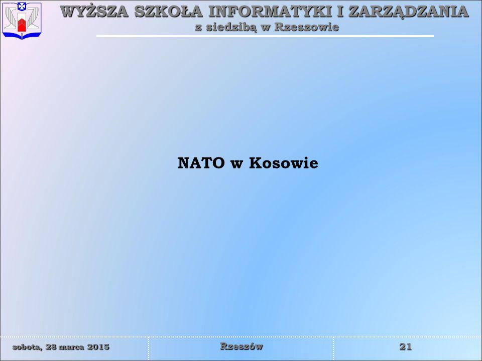 NATO w Kosowie