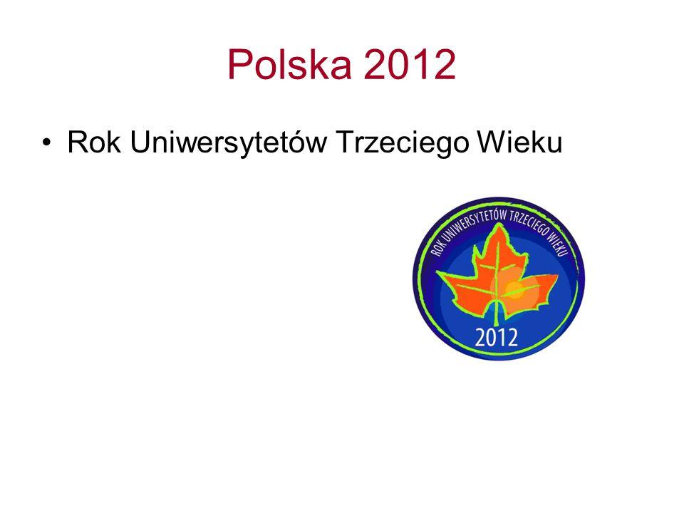 Polska 2012 Rok Uniwersytetów Trzeciego Wieku