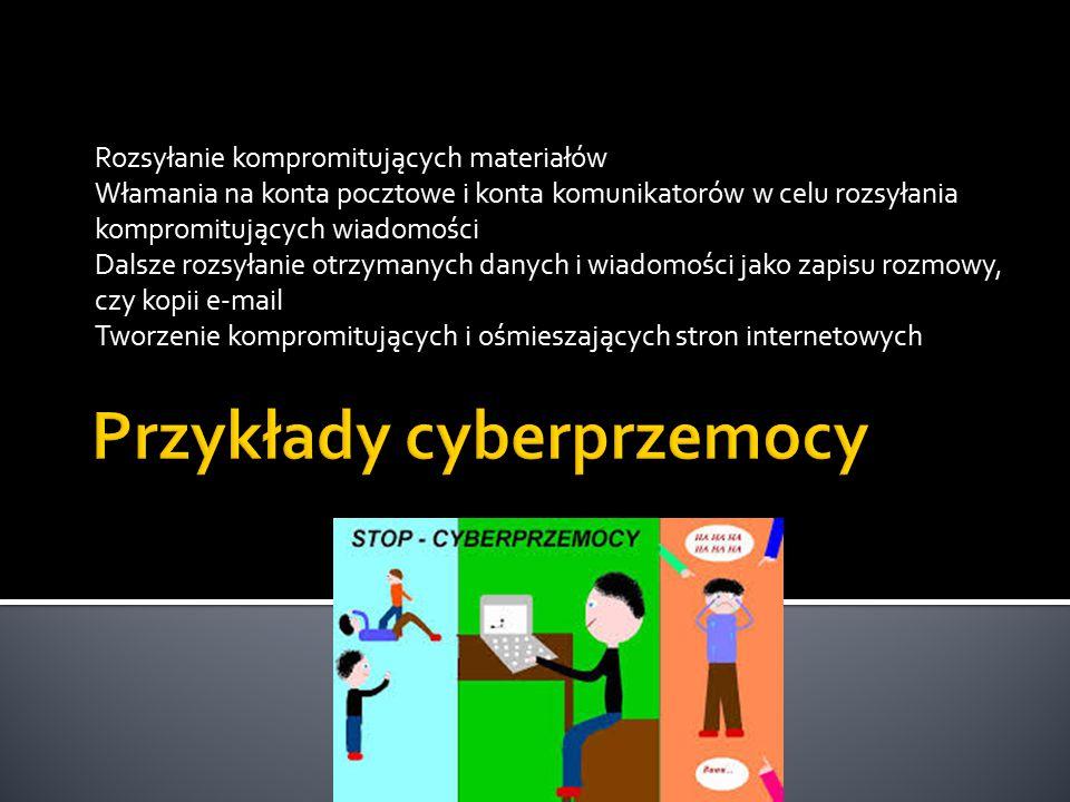 Przykłady cyberprzemocy