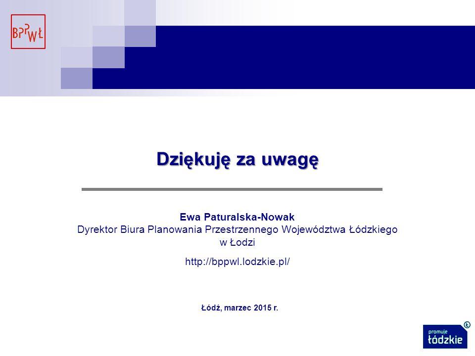 Dyrektor Biura Planowania Przestrzennego Województwa Łódzkiego w Łodzi