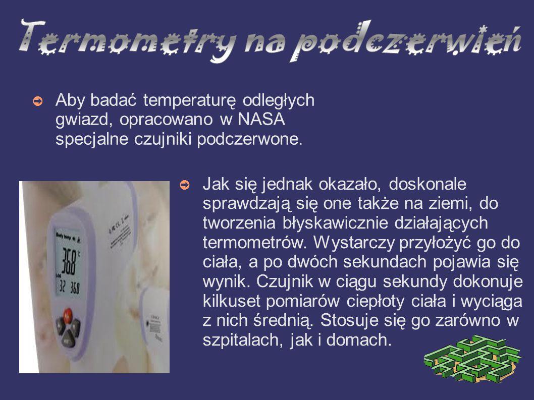 Termometry na podczerwień