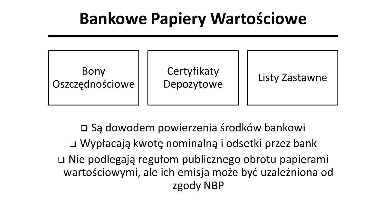 Bankowe Papiery Wartościowe