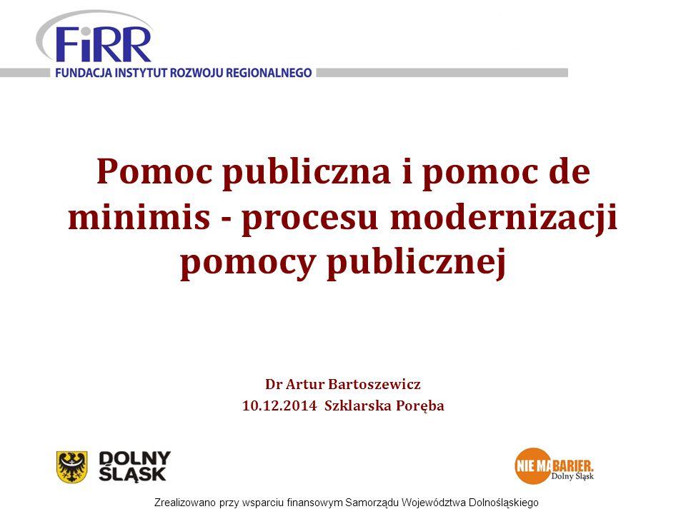Dr Artur Bartoszewicz 10.12.2014 Szklarska Poręba