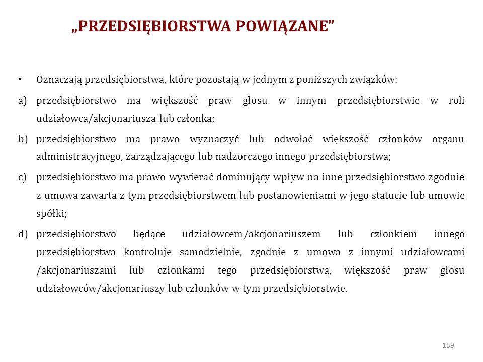 """""""PRZEDSIĘBIORSTWA POWIĄZANE"""