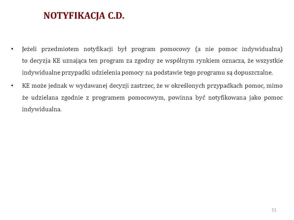 NOTYFIKACJA C.D.