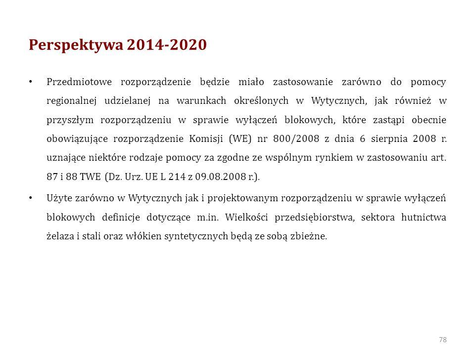 Perspektywa 2014-2020