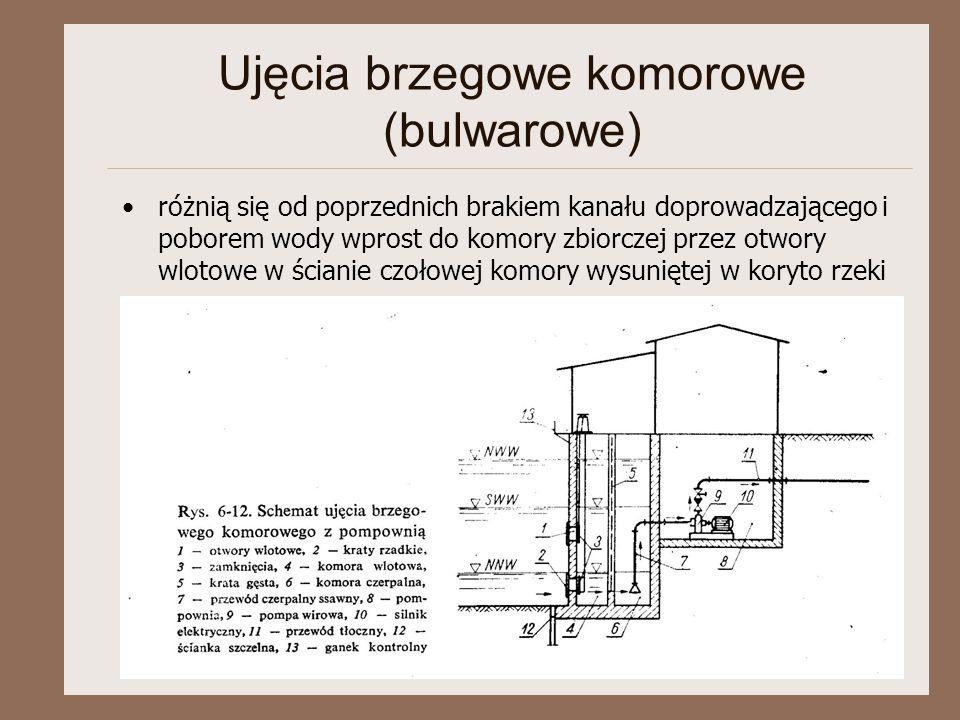 Ujęcia brzegowe komorowe (bulwarowe)