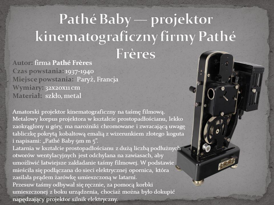 Pathé Baby — projektor kinematograficzny firmy Pathé Frères