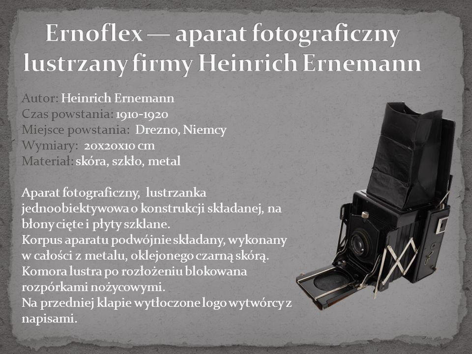 Ernoflex — aparat fotograficzny lustrzany firmy Heinrich Ernemann