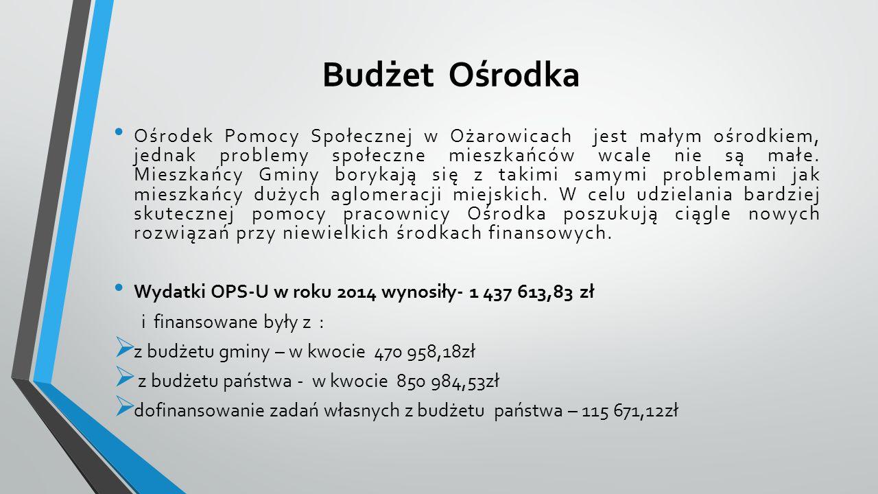 Budżet Ośrodka