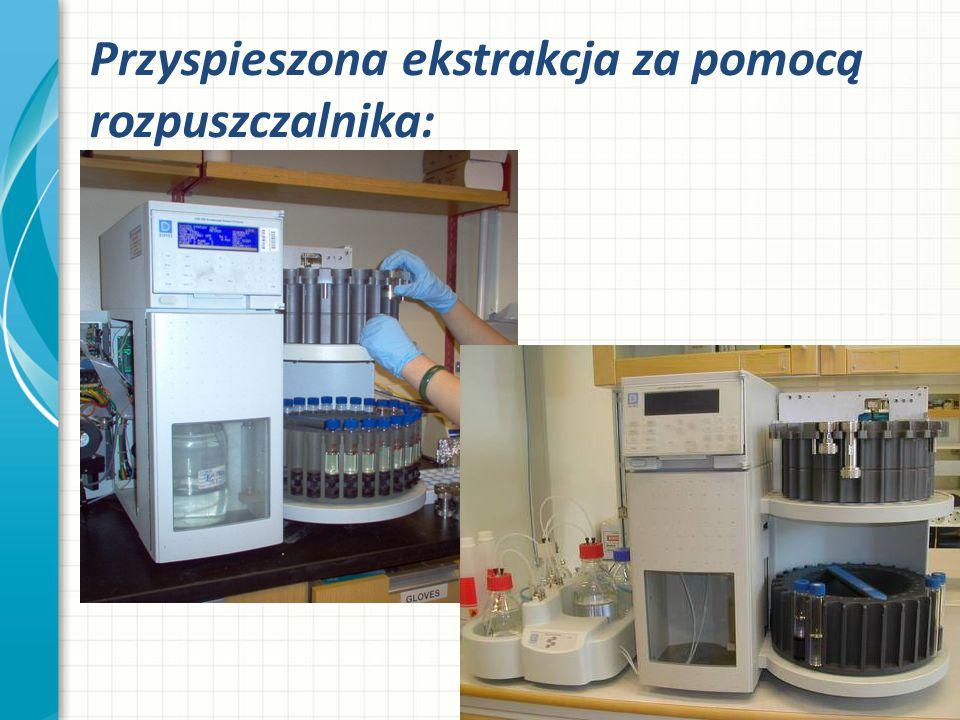 Przyspieszona ekstrakcja za pomocą rozpuszczalnika: